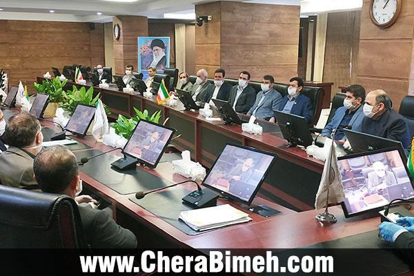 معارفه و تکریم در دو معاونت بیمه ایران